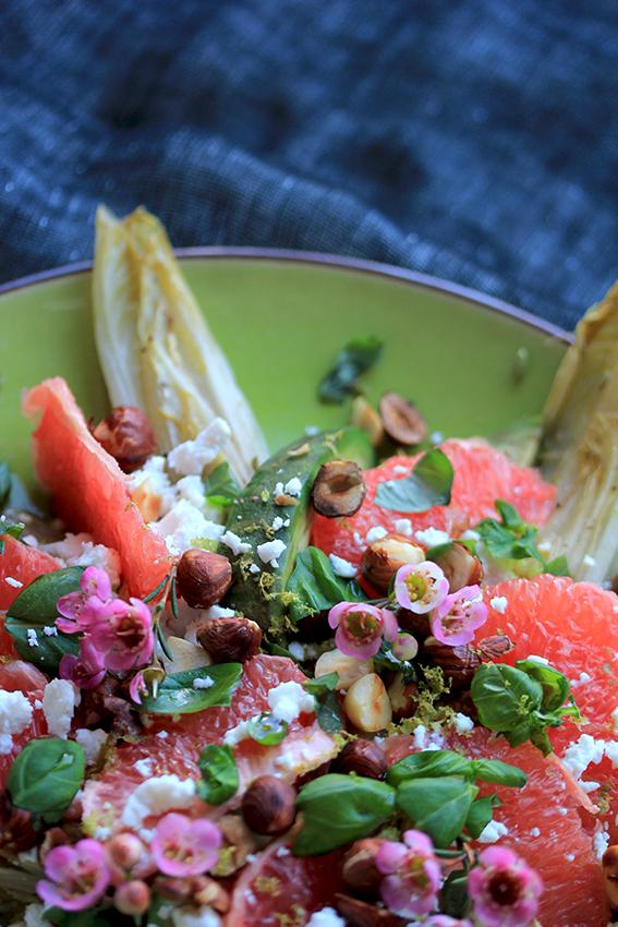 chicory citrus salad