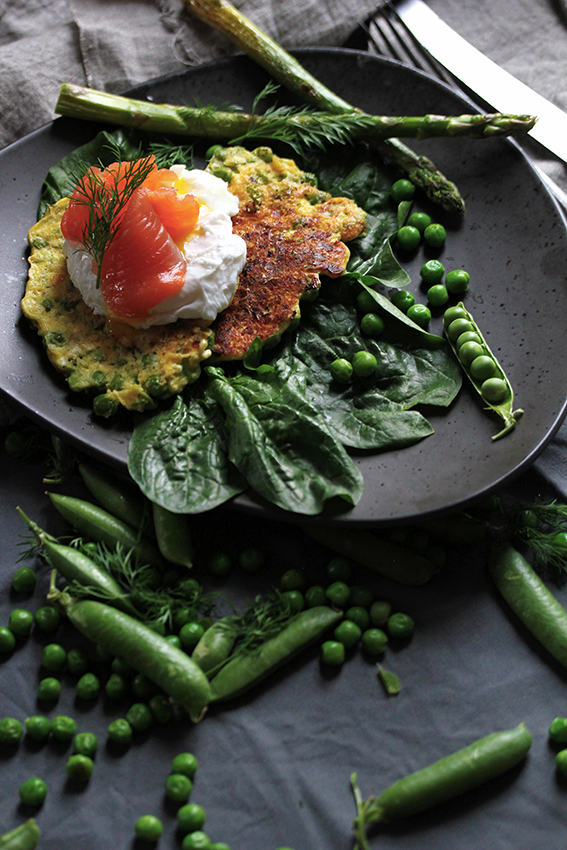 Pea-Fritters // From Hand To Mouth