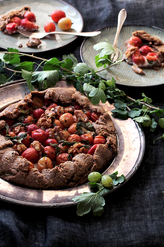 Gooseberry Galette // From Hand To Mouth